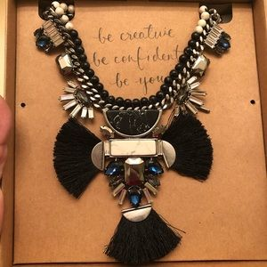 C+I Hero Convertible Fan Statement necklace